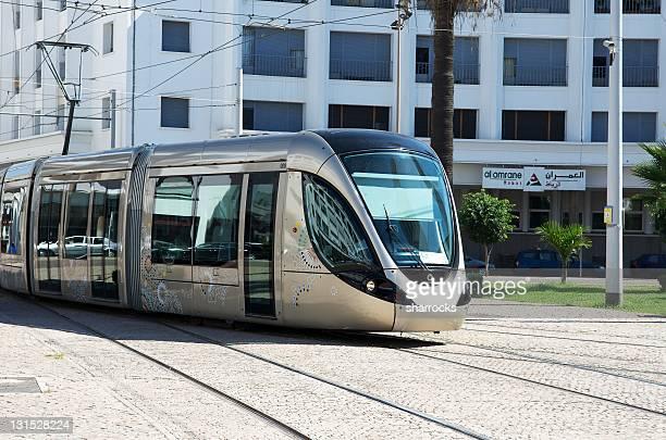 Moderne de tramway, Rabat, Maroc