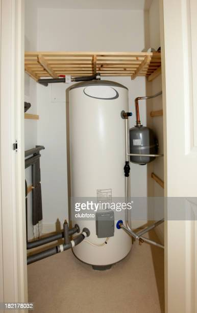Modern unvented indirect hot water system storage tank
