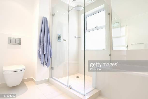 Modern upmarket domestic bathroom