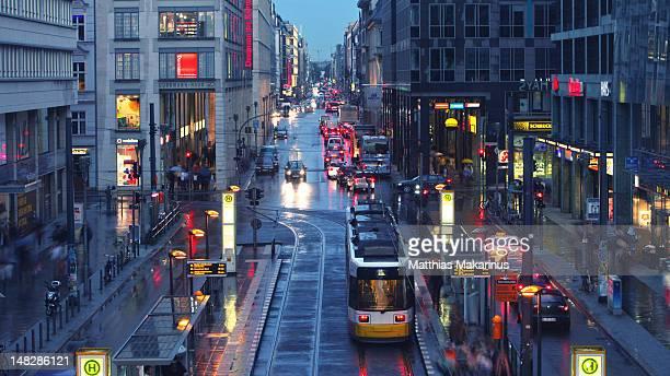 Modern view of Berlin city