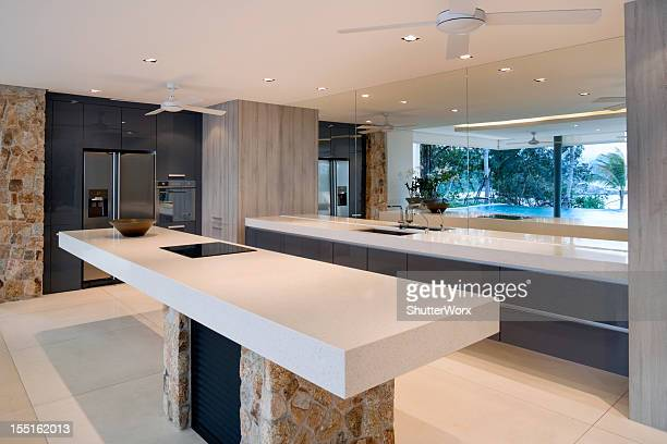 Moderne Villa Küche