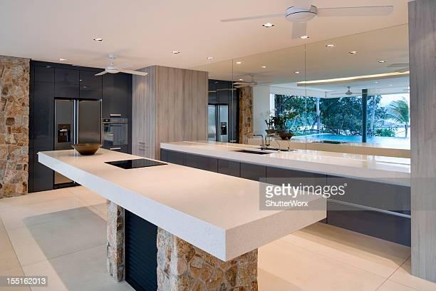 Villa moderna Cozinha