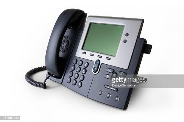 モダンな voip 電話 - 加入電話 ストックフォトと画像