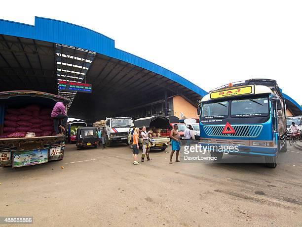 Modern wholesale fruits and vegetable market, Sri Lanka