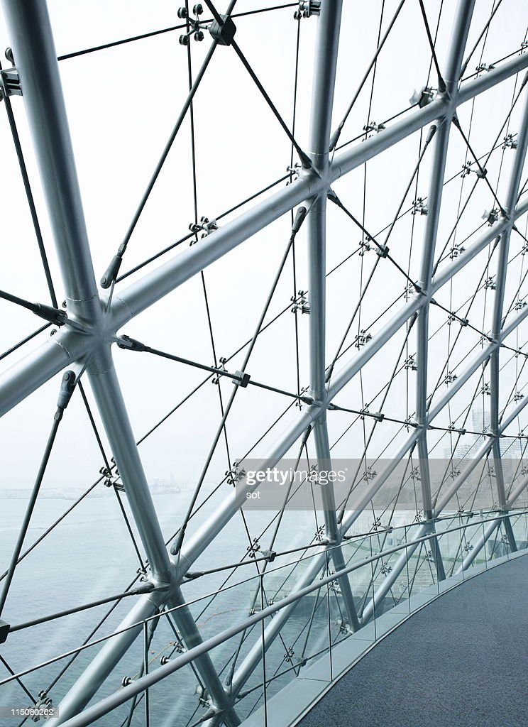 Modern window,Modern architecture : Foto de stock