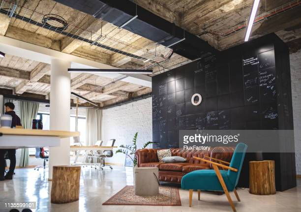 modern work space - coworking stock photos and pictures