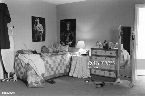 A modern young girls bedroom 28th June 1984