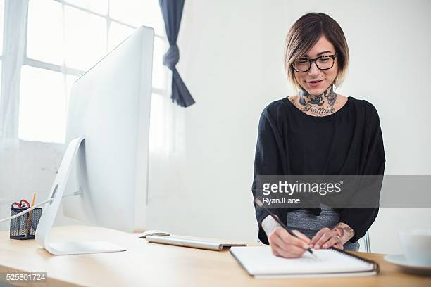 Modern Young Professional Woman