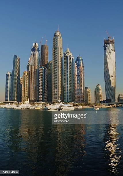 Moderne Architektur in Dubai Marina