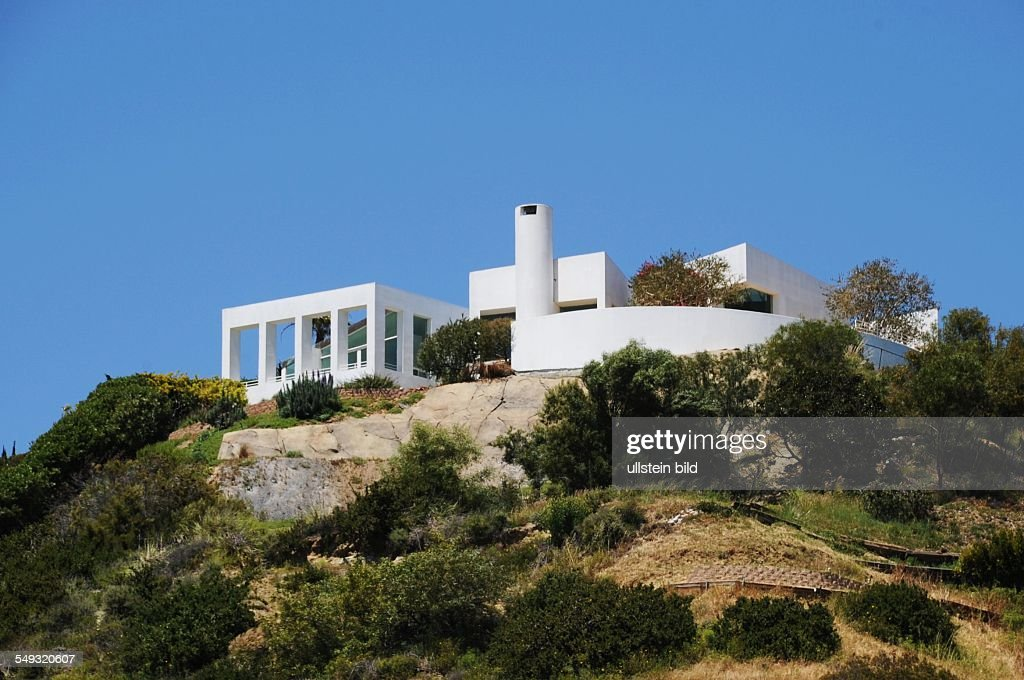 Moderne Architektur In Kalifornien, USA, Villa In Malibu Hills