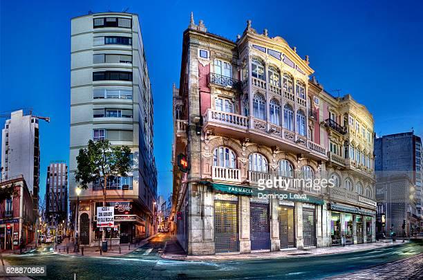 Modernist building in Almería City