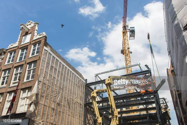 Modernization in Amsterdam's shopping districts