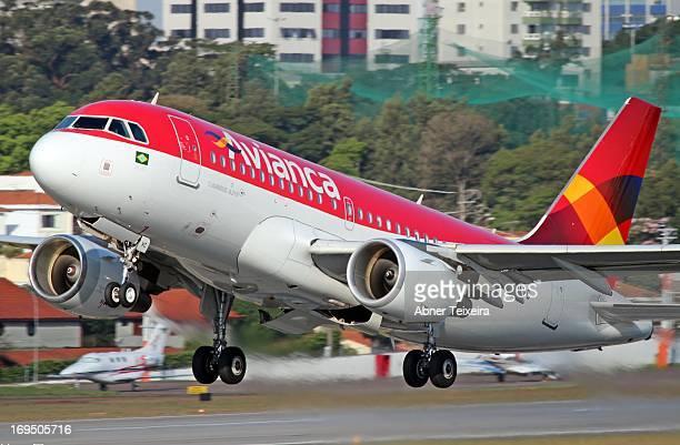 E48651 Reg PRAVC Typecode A319 Type Airbus A319115 Serial number 4287 Airline Avianca Brasil Aeroporto Congonhas São Paulo Brasil Avianca Airbus...