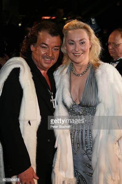 Modeschöpfer Alfredo Pauly Ehefrau Sabine CharityVeranstaltung 11 'UnescoBenefizGala' 2008 Köln NordrheinWestfalen Deutschland Europa 'Maritim' Hotel...