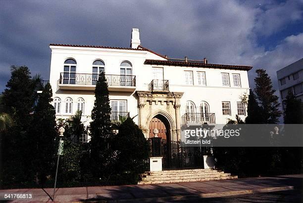 Modeschöpfer Italien Wohnhaus in Miami Beach vor demVersace ermordet wurde 1997