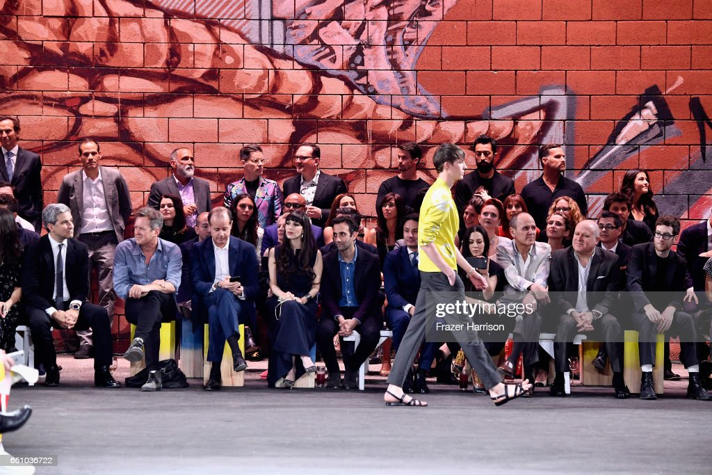 Dwtwn Men - s/s17 Runway Show on March 9, 2017 in Los Angeles, California.