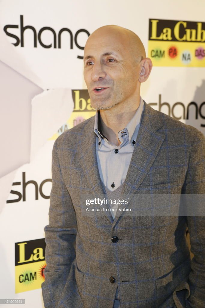 Modesto Lomba attends Shangay Magazine 20th Anniversary in Madrid at teatro Nuevo Alcala on December 10, 2013 in Madrid, Spain.