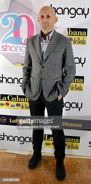 Modesto Lomba attends Shangay Magazine 20th Anniversary on December 10 2013 in Madrid Spain