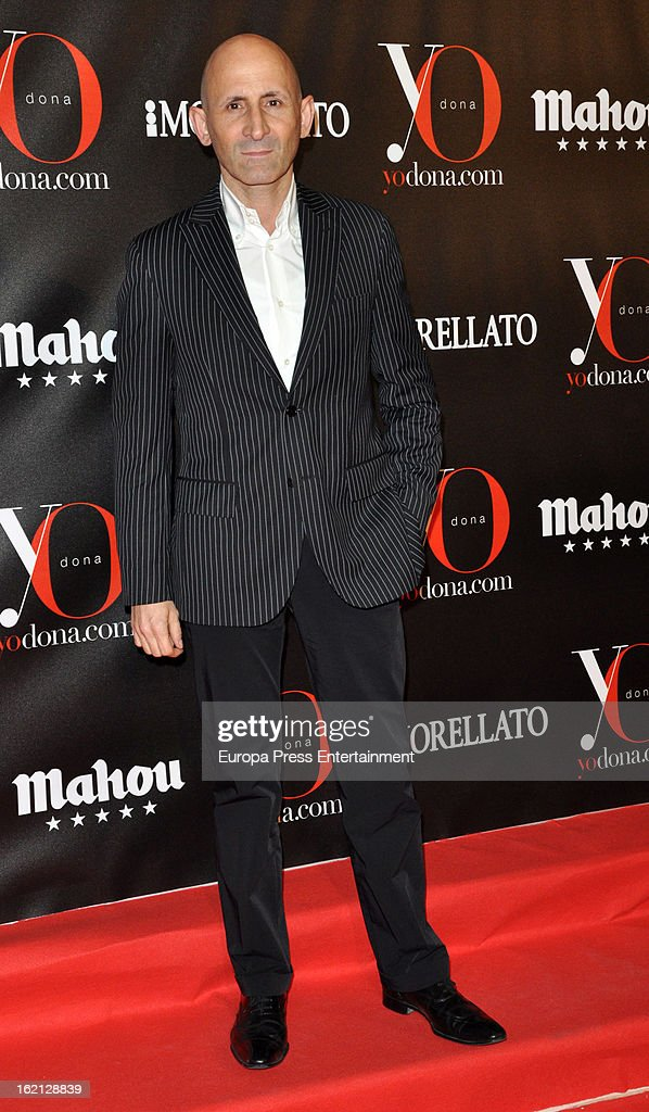 Modesto Lomba attends 'Yo Dona' magazine mask party on February 18, 2013 in Madrid, Spain.