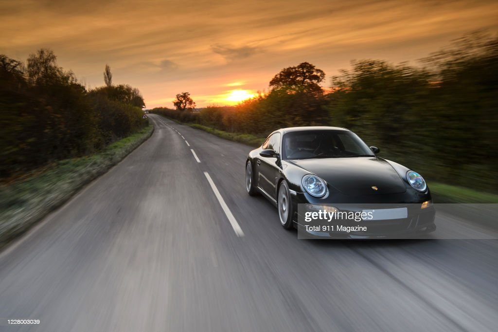A Modified Porsche 997 Carrera S Sports Car Driving On A Rural Road News Photo Getty Images