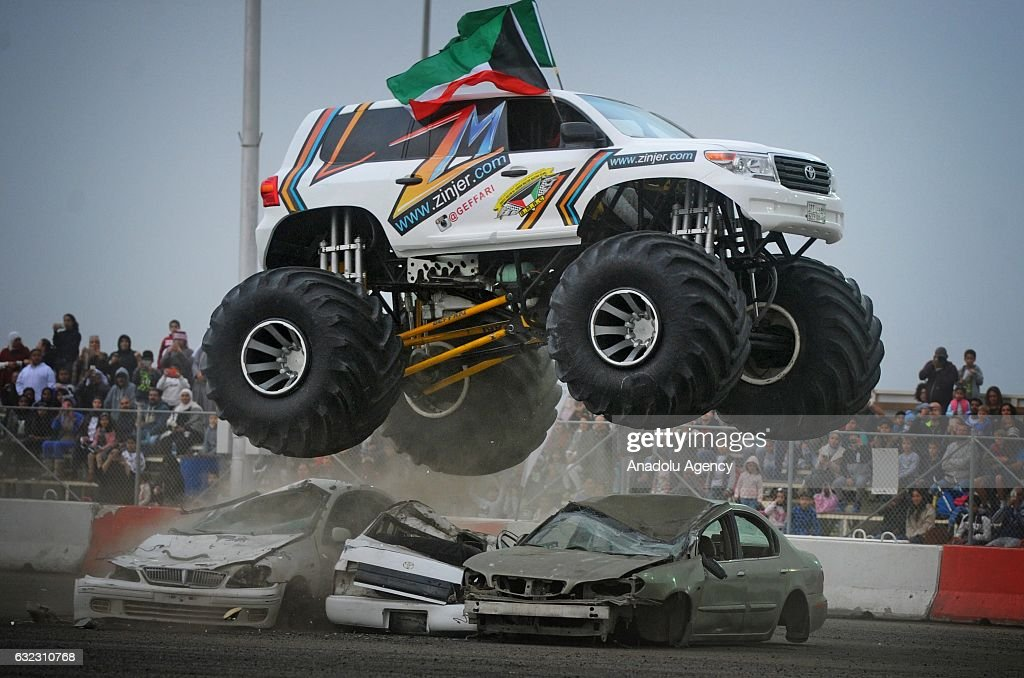 Modified Car Show In Kuwait Pictures Getty Images - Monster car show