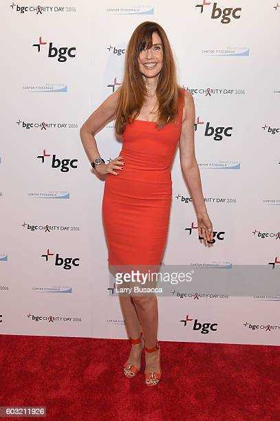 Modle Carol Alt attends Annual Charity Day hosted by Cantor Fitzgerald BGC and GFI at BGC Partners INC on September 12 2016 in New York City