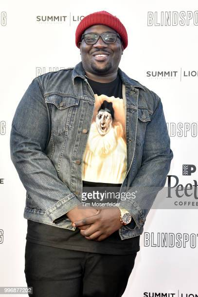 Moe Green attends the premiere of Summit Entertainment's 'Blindspotting' at The Grand Lake Theater on July 11 2018 in Oakland California