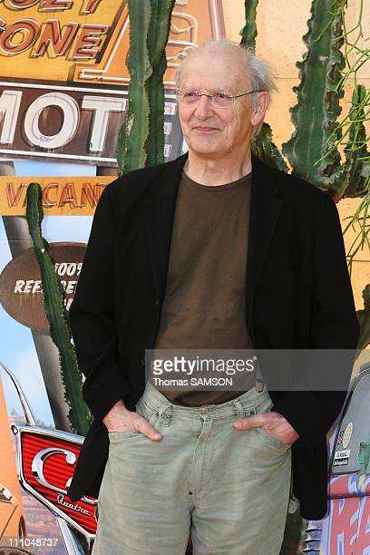 Moebius at Premiere of 'Cars' by John Lasseter in Paris France on May 11th2006