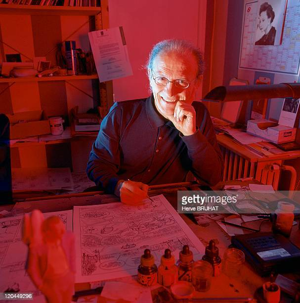 Moebius Comic strip illustrator His real name is Jean Giraud