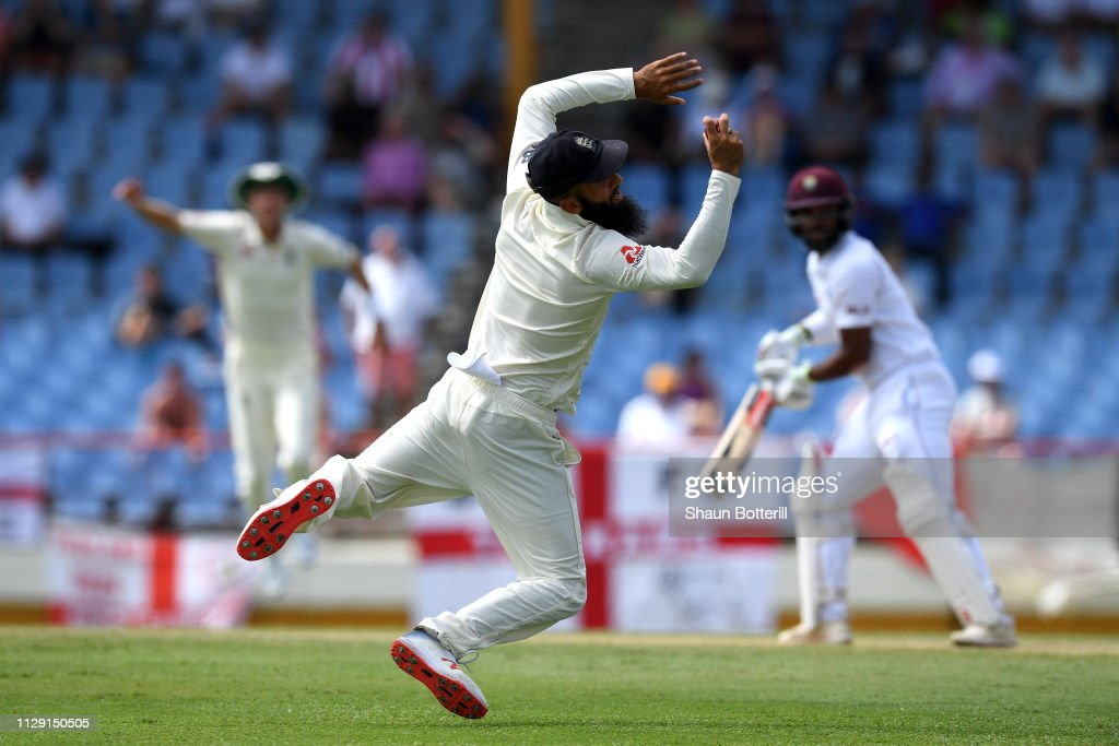 West Indies v England - 3rd Test: Day Four : News Photo