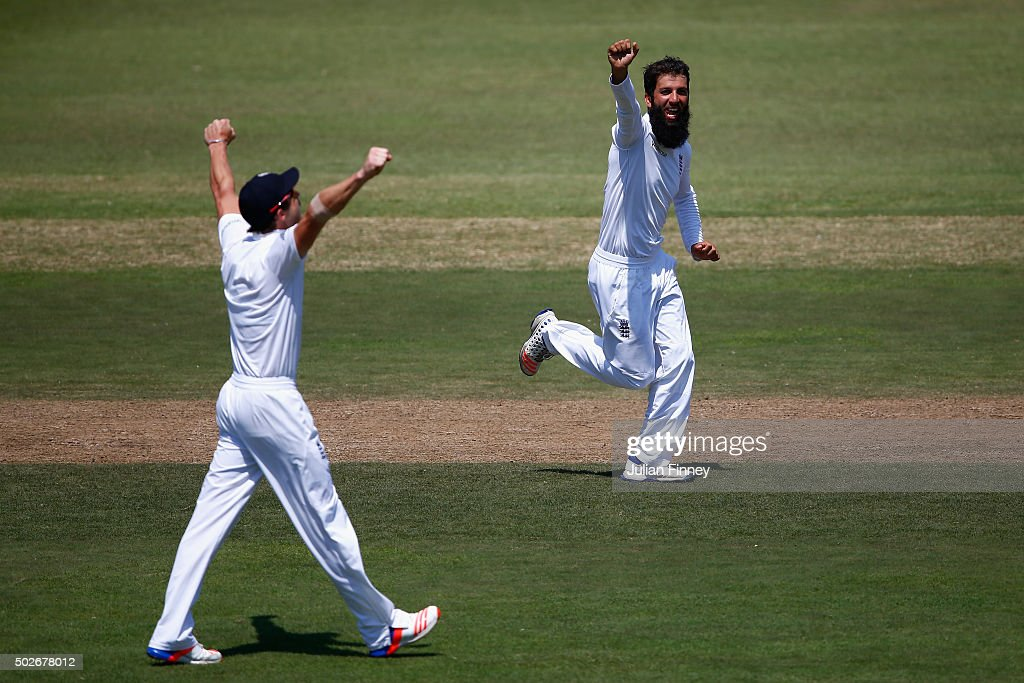 South Africa v England - First Test: Day Three