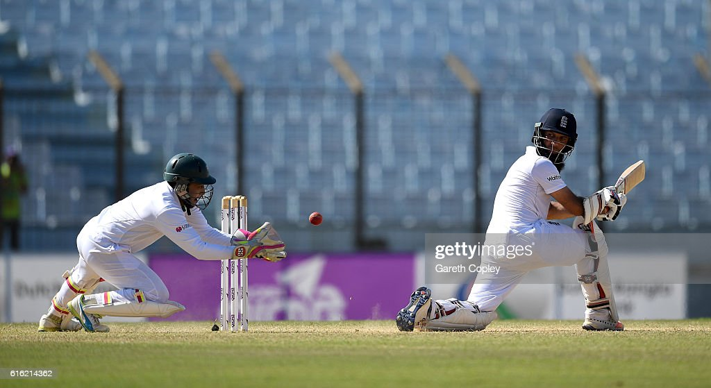 Bangladesh v England - First Test: Day Three : News Photo