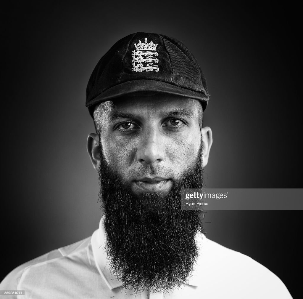 Moeen Ali of England poses during the 2017/18 England Ashes Squad portrait session at the WACA on November 1, 2017 in Perth, Australia.