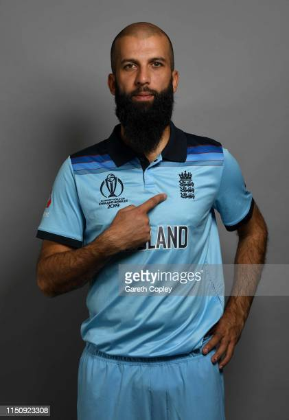 Moeen Ali of England poses for a portrait on May 13, 2019 in Bristol, England.