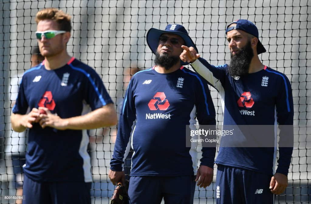 England & South Africa Net Sessions