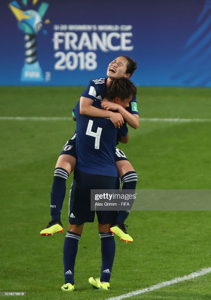 Germany v Japan: Group  - FIFA U-20 Women's  World Cup France 2018 Quarter Final