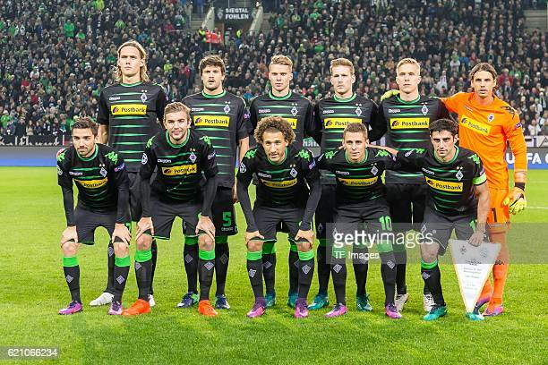Moenchengladbach Germany UEFA Champions League 2016/17 Season Group C Matchday 4 Borussia Moenchengladbach Celtic Glasgow feature vl oben Jannik...