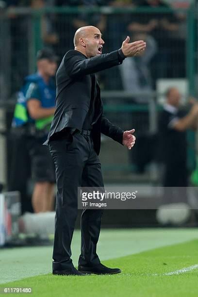 Moenchengladbach, Germany , UEFA Champions League - 2016/17 Season, Group C - Matchday 2, Borussia Moenchengladbach - FC Barcelona, 1:2, Trainer...