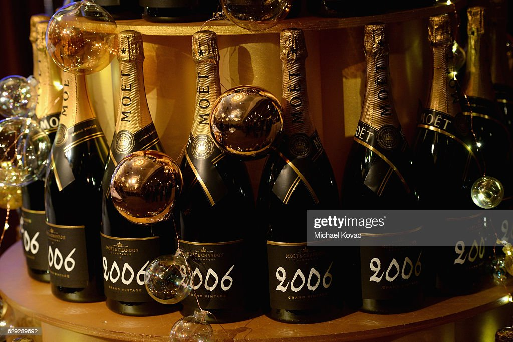 Moet & Chandon Toasts The 74th Annual Golden Globe Awards Nominations : Nachrichtenfoto