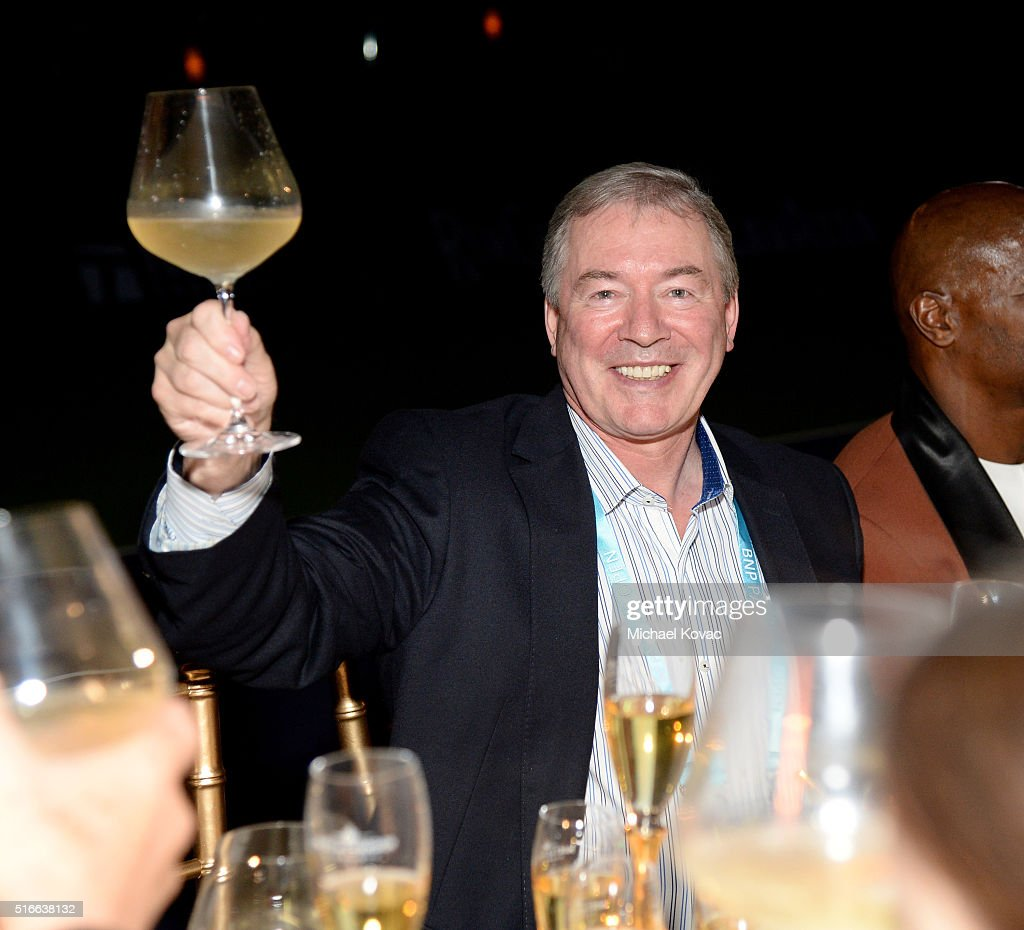 Moet Hennessy North America CEO/President Jim Clerkin attends The Moet and Chandon Inaugural 'Holding Court' Dinner at The 2016 BNP Paribas Open on March 19, 2016 in Indian Wells, California.
