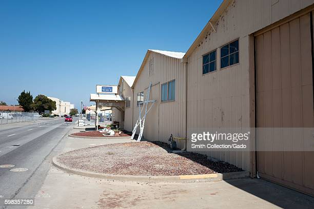 Moffett Field Museum within the secure area of the NASA Ames Research Center campus in the Silicon Valley town of Mountain View California August 25...