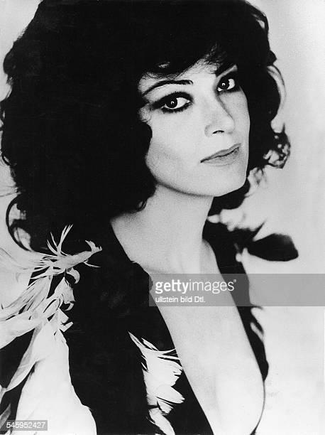 Moffo Anna *Opernsaengerin Schauspielerin USA Portrait 1972