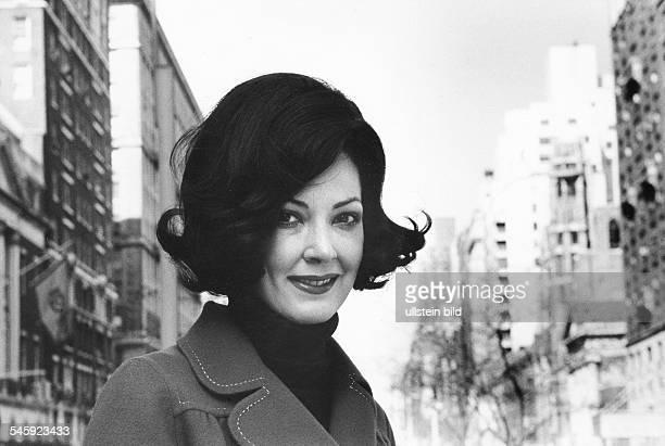 Moffo Anna *Opernsaengerin Schauspielerin USA Portrait in New York 1972