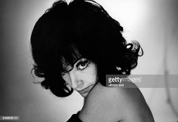 Moffo Anna Opera Singer Actress USA * 1965 Photographer Jochen Blume Vintage property of ullstein bild