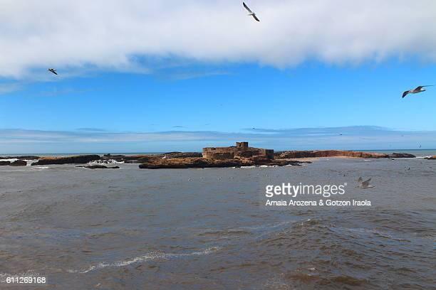 Mogador island in Essaouira, Morocco