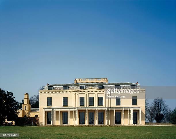 Moggerhanger House Sandy United Kingdom Architect Sir John Soane Moggerhanger House Garden Front
