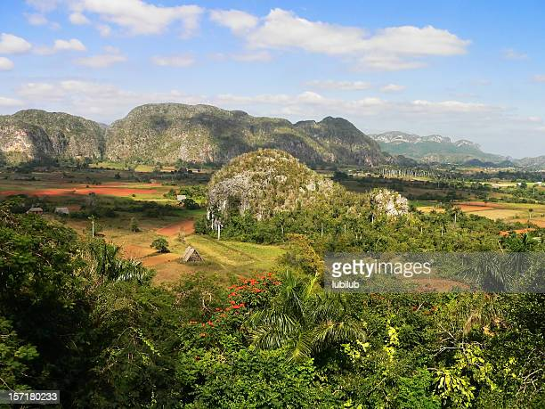 Mogotes in beautiful Vinales Valley, Cuba