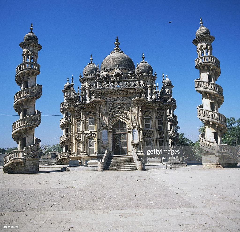 Mohabbat Palace Maqbara , Junagadh, Gujarat, India. 12th