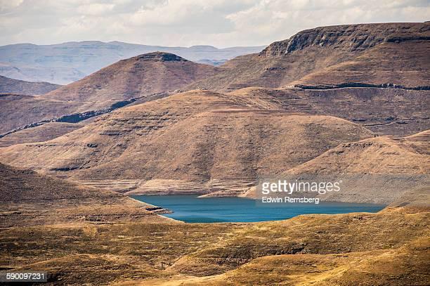 mohale lake - マセル ストックフォトと画像