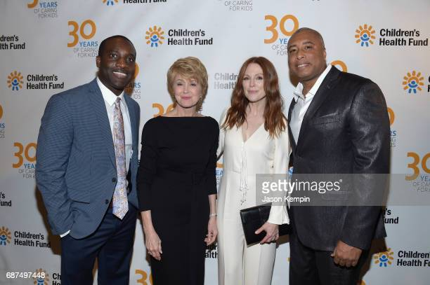 Mohalland Lewis LLC CoFounder Marcus E Mohalland CBS News Anchor and CHF Board of Directors Jane Pauley actress and activist Julianne Moore and...